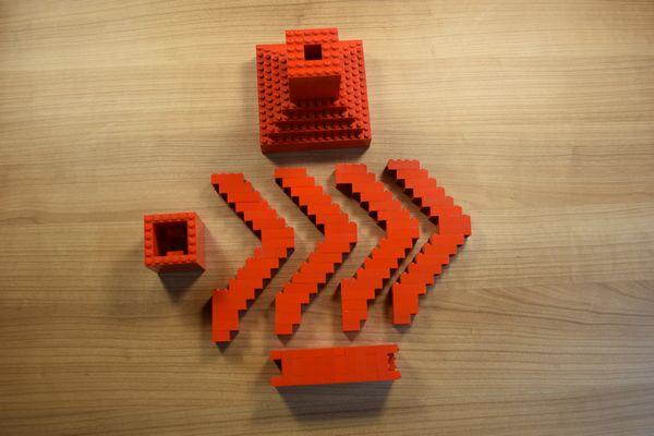 Legolampeteile